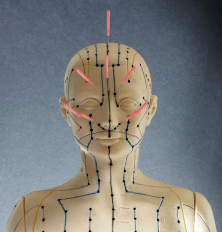 Facial Acupressure Point for Sinus Allergies