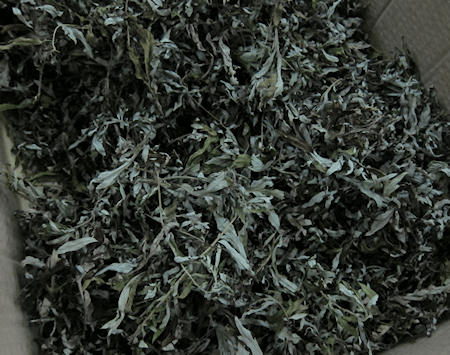 Dried Mugwort Leaves