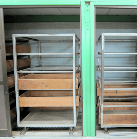 Moxa Drying Compartments