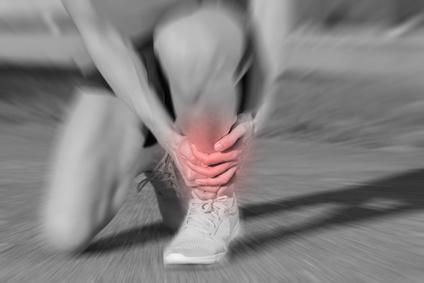 Injury at jogging and running.